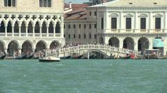 San Marco lagoon 09 Stock Footage