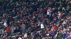 Football, Fans, Stadium, Game Stock Footage