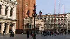 St marks square venice Stock Footage