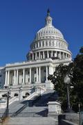 Capitol hill in washington dc Stock Photos