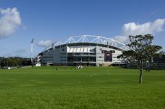 North harbour stadium Stock Photos