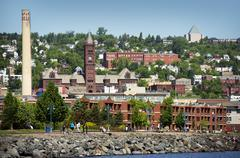 Duluth is a seaport city in the u.s Stock Photos