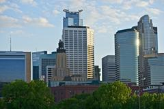 city of minneapolis in minnesota - stock photo