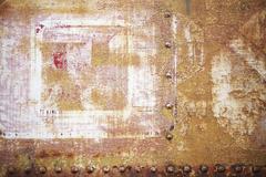 aged rusty metal texture - stock illustration
