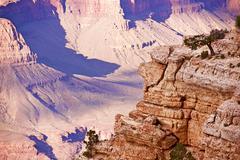 grand canyon south rim - stock photo