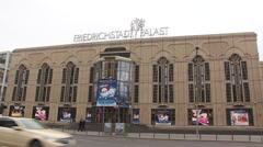 Friedrichstadt Palast Stock Footage