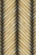 close up of laminated floor pattern - stock photo