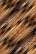 Detailed old mahogany parquet Stock Photos