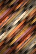 detailed old mahogany parquet - stock illustration