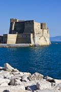 Stock Photo of Castel dell'Ovo in Naples