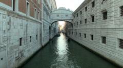 Ponte Sospiri 05 Stock Footage
