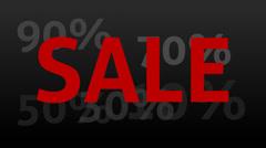 Sale percent Stock Footage