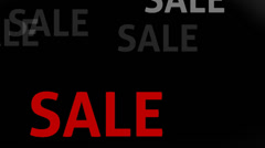 Sale red Stock Footage