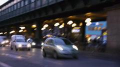 Traffic in berlin Stock Footage