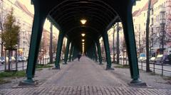 Bridge in berlin Stock Footage
