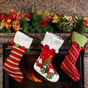 christmas stocking - stock photo
