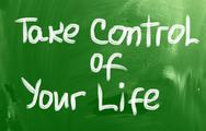 Stock Illustration of take control of your life concept