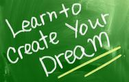 Stock Illustration of learn to create your dream concept