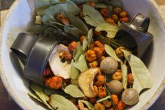 Stock Photo of bowl of holiday potpourri