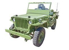 Us army jeep Stock Photos