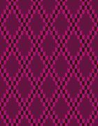 Style Knit woolen seamless jacquard ornament texture Stock Illustration