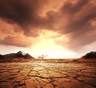 Kuivuus maa Kuvituskuvat