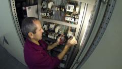 Experienced Industry Electrical Engineer Stock Footage