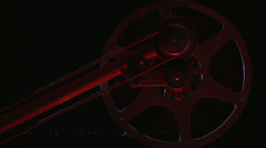 film take up reel movie - stock footage