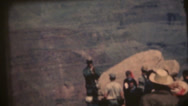 Stock Video Footage of vintage  movies 8mm, ranger grand canyon