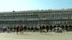 Piazza San Marco 01 Stock Footage