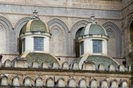 Stock Photo of palermo cathedral architectural detail
