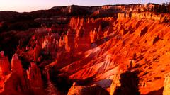 Bryce Canyon National Park Hoodoos at Sunrise Point - stock photo