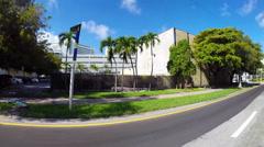 Alton Road Miami Beach Florida Stock Footage
