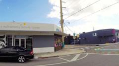Wynwood Art Walls Miami Stock Footage