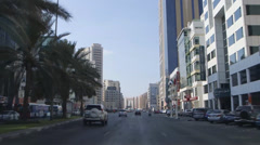 Sheikh zayed highway_02 Stock Footage