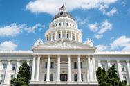 Stock Photo of california state capitol in sacramento