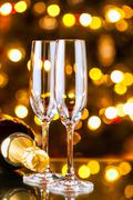 new years preparations - stock photo