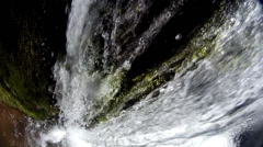 Waterfall in close up Stock Footage