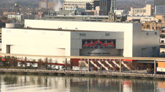 Detroit Joe Louis Arena - stock footage