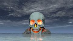 skull island - stock footage