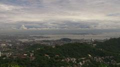 Panoramic View of Rio Stock Footage
