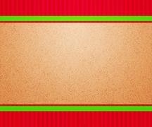 christmas vintage backdrop - stock illustration