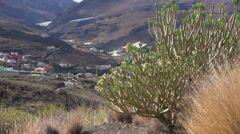 Spain- Gran Canaria - Western Landscape Stock Footage