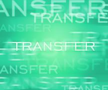 transfer - stock illustration