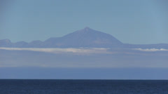 Spain - Tenerife - Mount Teide Stock Footage