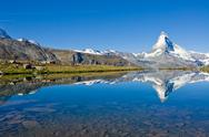Stock Photo of Mass tourism at the Matterhorn