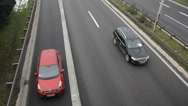 Stock Video Footage of Cars on a high way