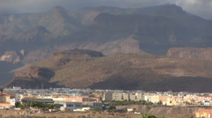 Spain - Gran Canaria - Maspalomas area Stock Footage