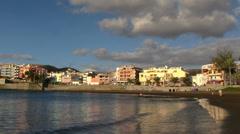 Spain - Gran Canaria - Beach in Arguineguin Stock Footage