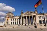 Stock Photo of Deutscher Bundestag German Parliament
